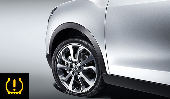 SsangYong Tire Pressure Monitor System