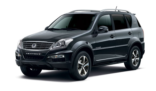 SsangYong Rexton Space Black