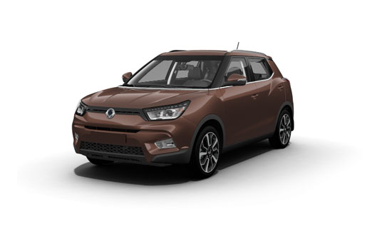 SsangYong Tivoli Brown